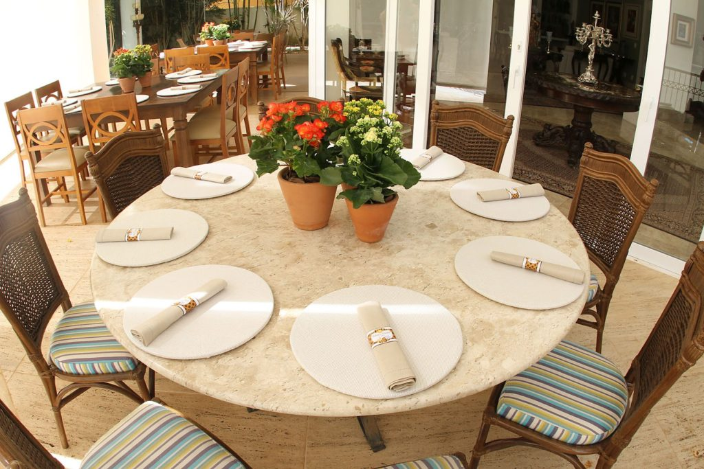 decoraçaõ de centro de mesa