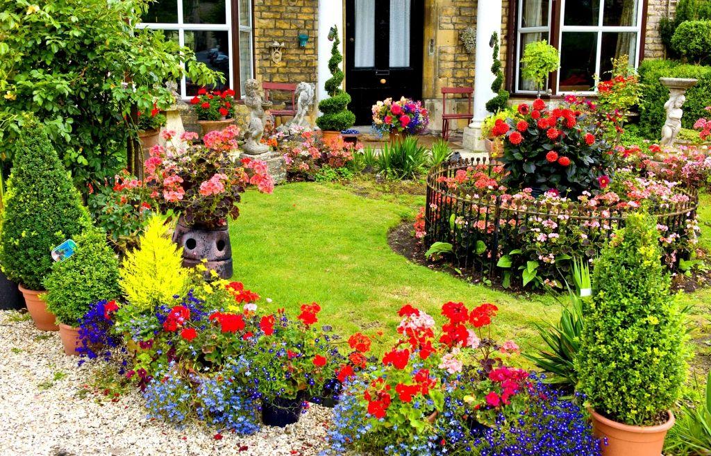 diversidade no jardim
