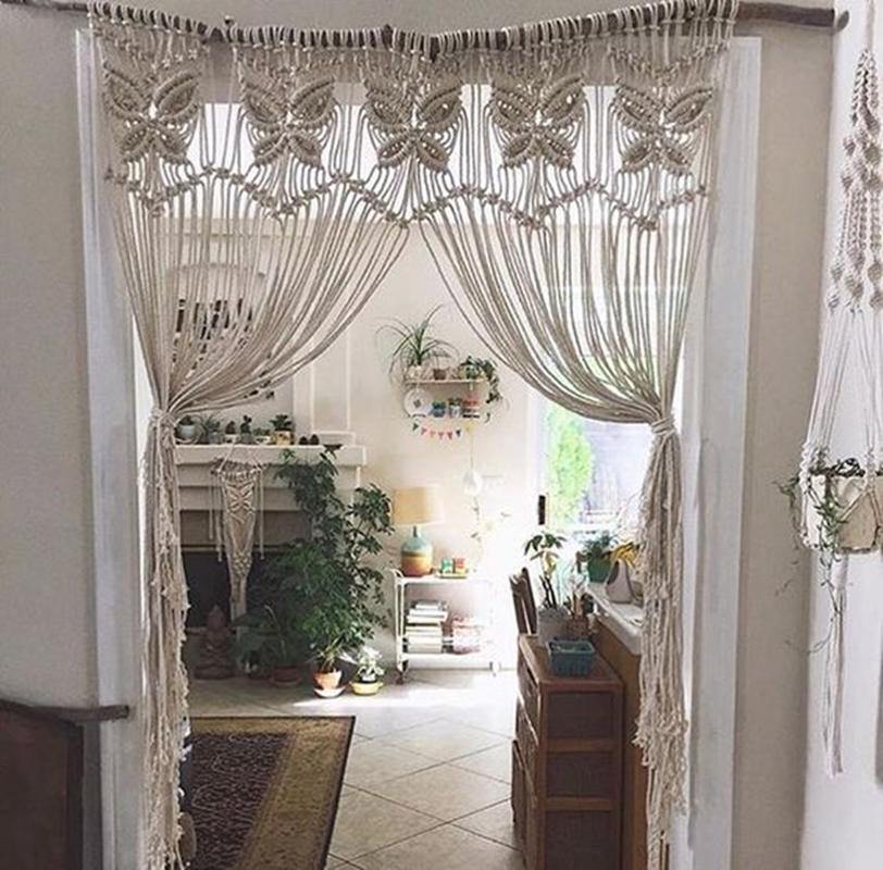 cortinas de passagem