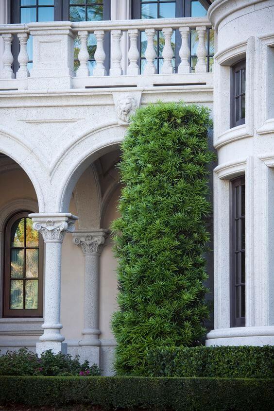 decoração de fachada