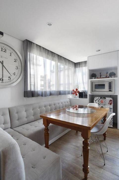 mesa simples para decoração