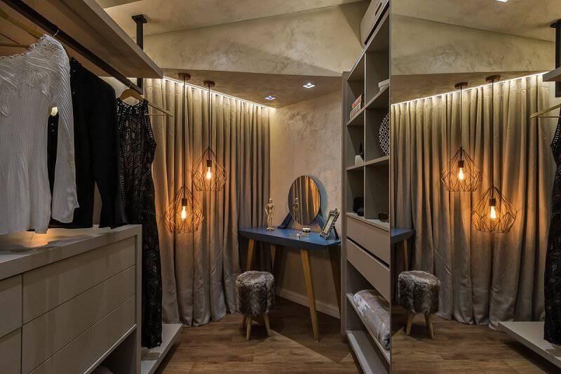 closet aconchegante