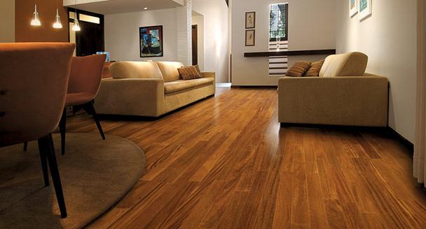 como limpar carpete de madeira