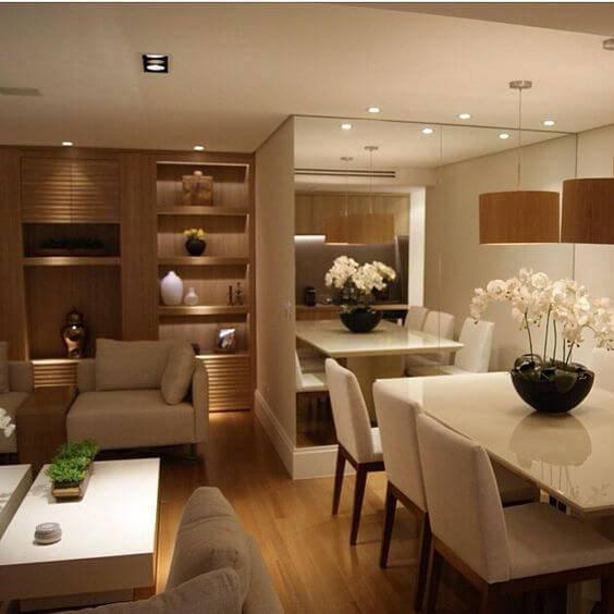 apartamento com decoração