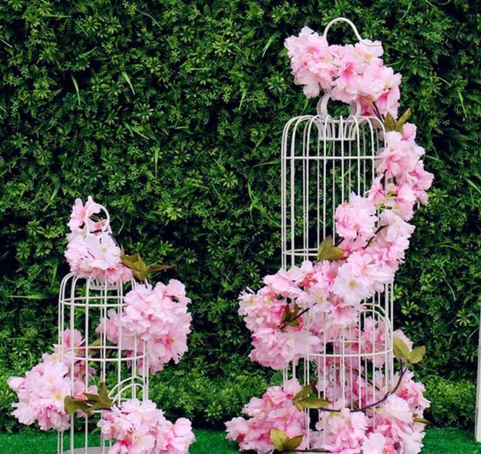 decoração com cerejeiras