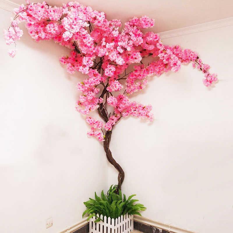 canto com flor de cerejeira
