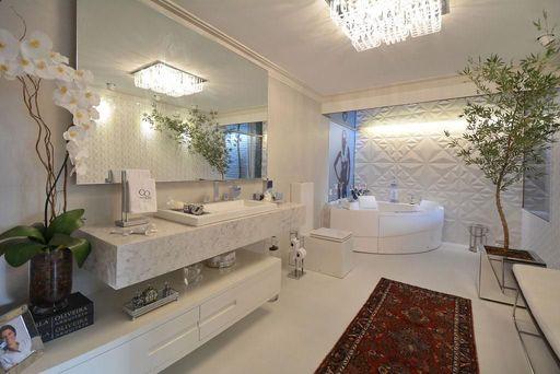 banheiro com gesso acartonado