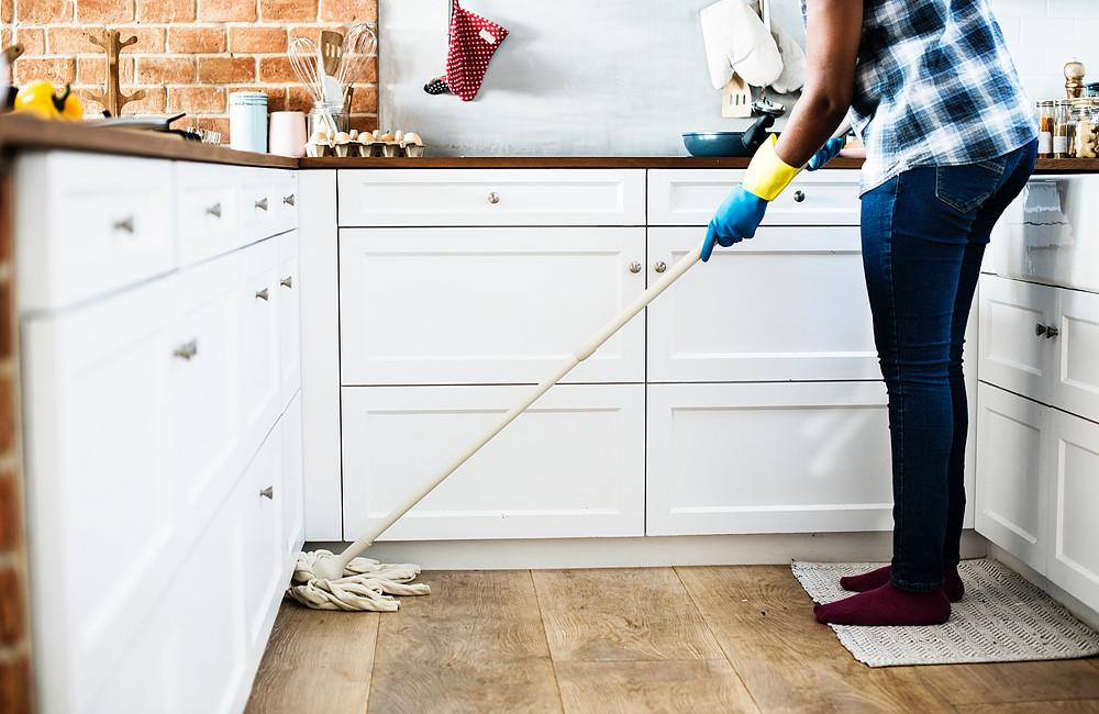 cozinha sempre limpa