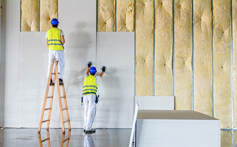 fabricação de parede