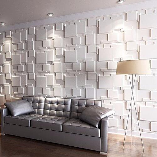 parede em 3d