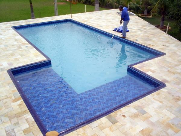 piscina de dois niveis