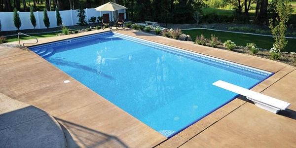 piscina lisa