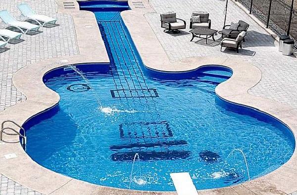 formato de guitarra