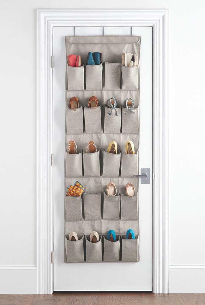 organizador de sapatos de tecido