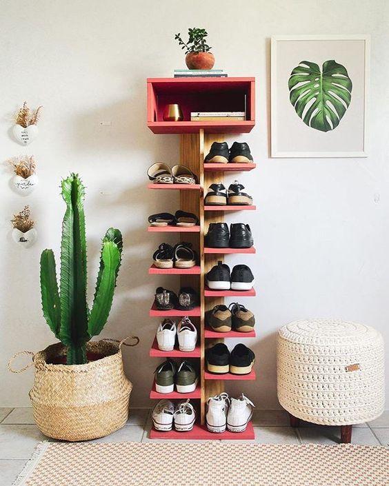 escada de sapatos