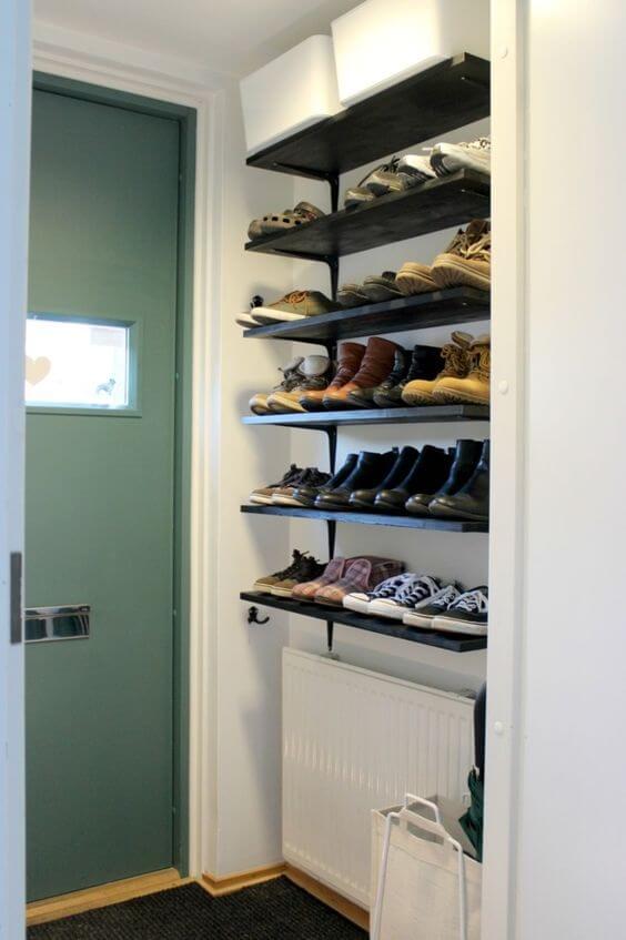 prateleira para sapatos
