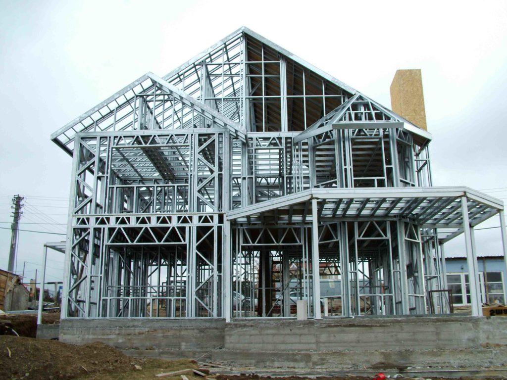 estrutura metalica para residencia
