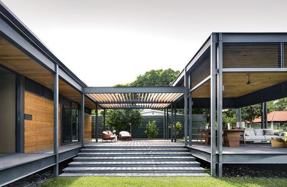 casa moderna integrada