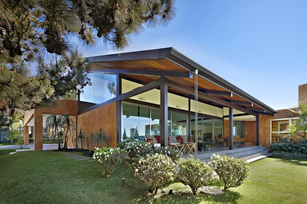 modelo de casa de steel frame