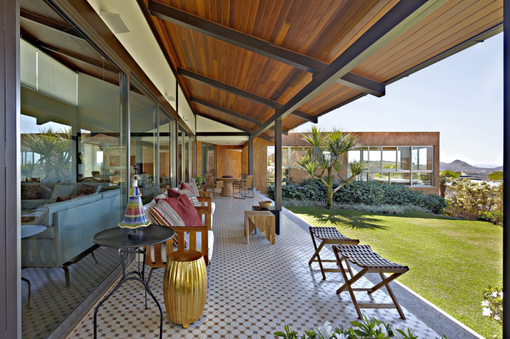 casa luxuosa de steel frame