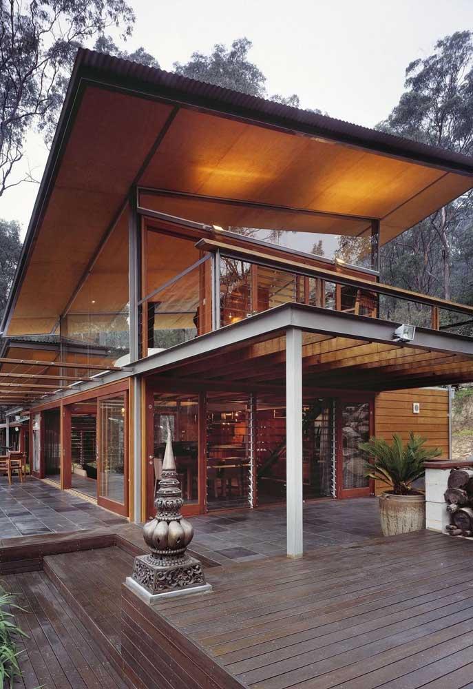 casa com steel frame