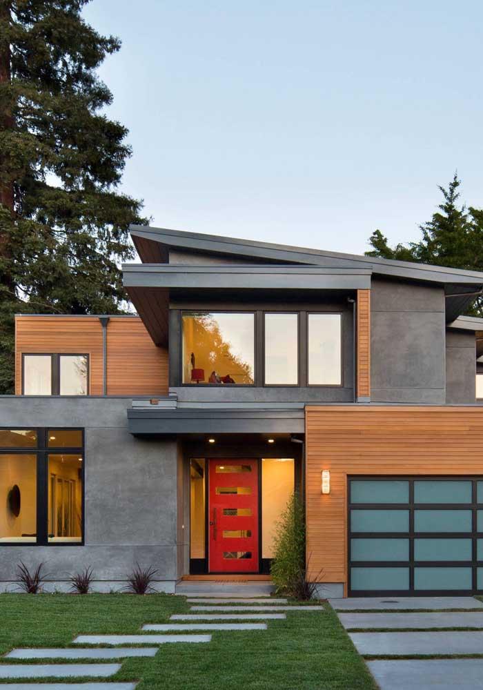 casa com estrutura metálica
