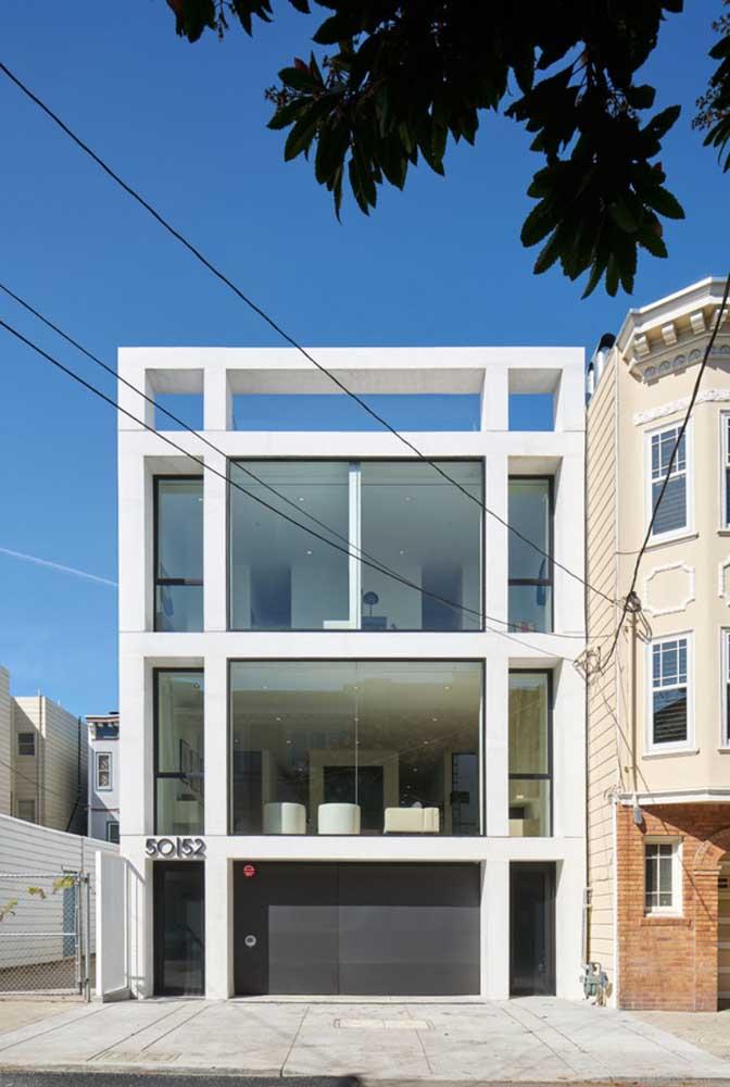 fachada moderna de casa