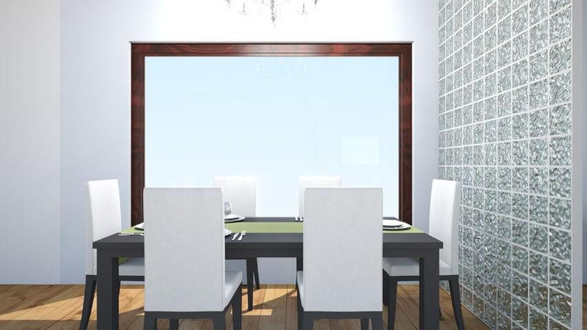divisória de sala de jantar