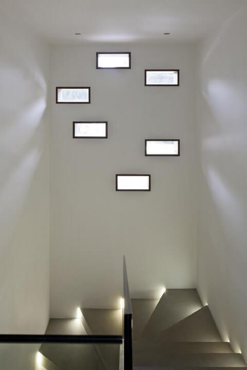detalhe minimalista de tijolo
