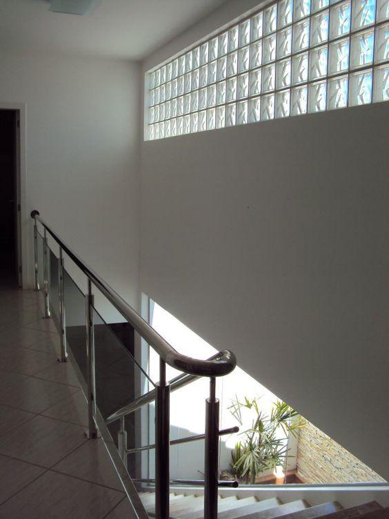 iluminação natural na escada