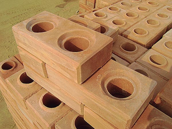 bloco de tijolo