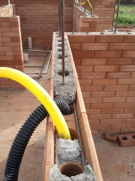 construção de residencia