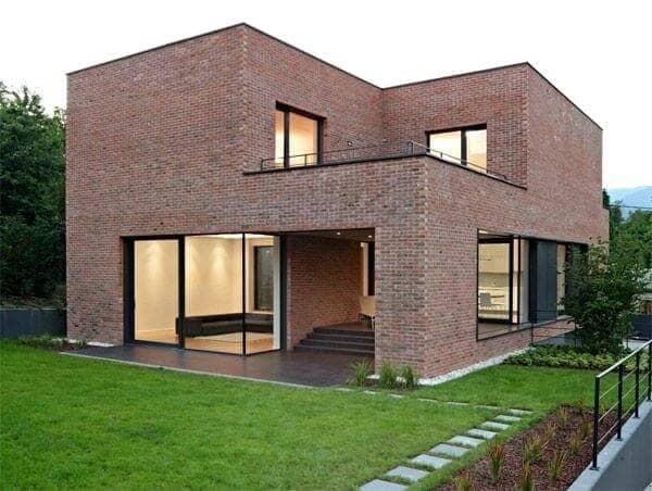 casa com fachada