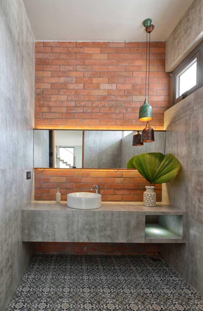 banheiro com decoraçaõ moderna