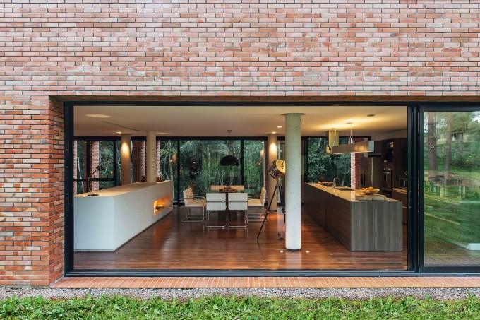 design com tijolo ecológico