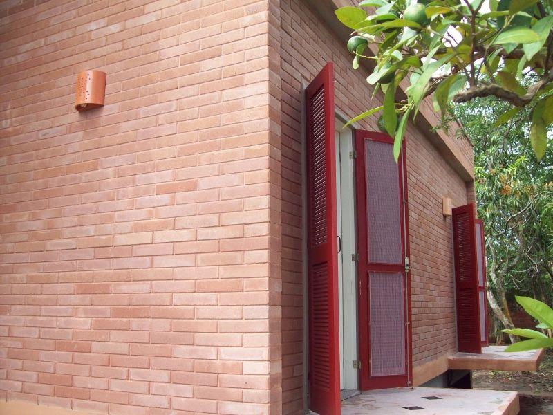 tijolo na fachada