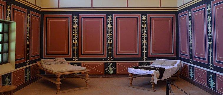 interior de residencia antiga