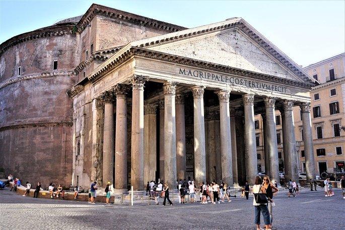 características romanas principais