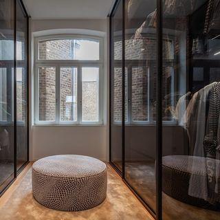 closet com vidro