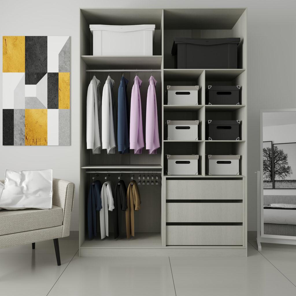 caixas organizadoras de armários
