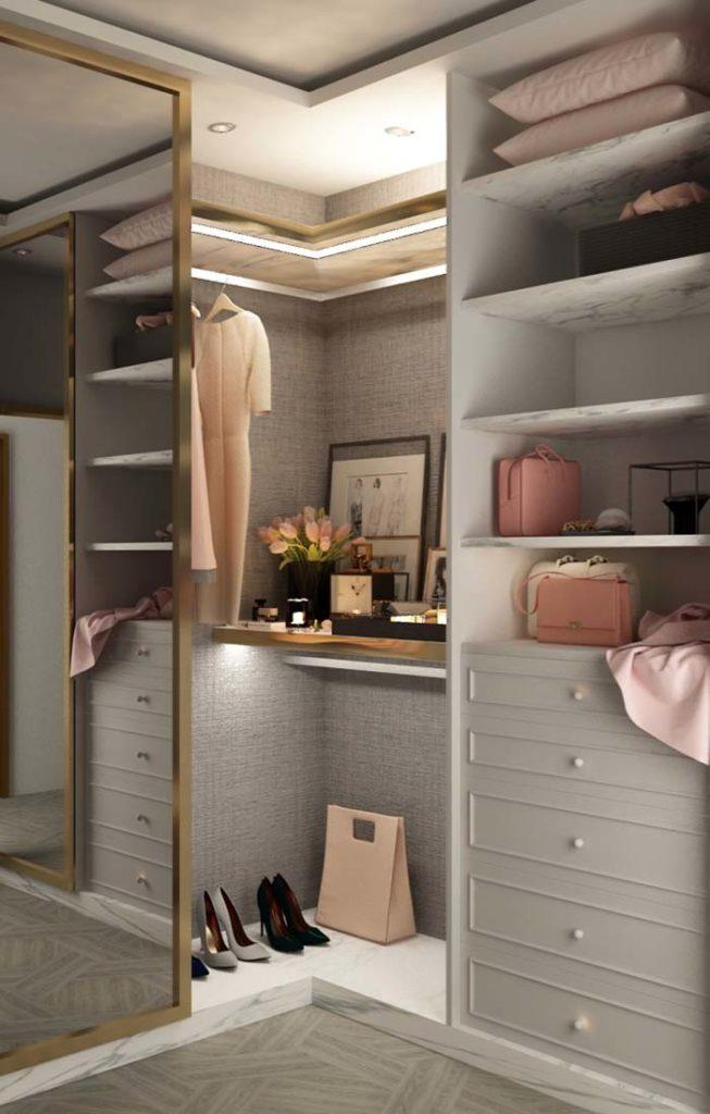 armário pequeno para roupas