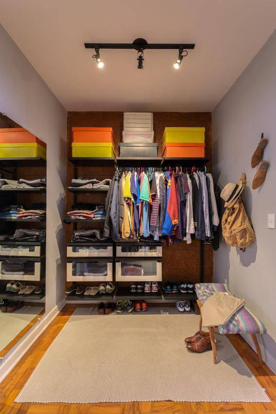 pequenos espaços para armários