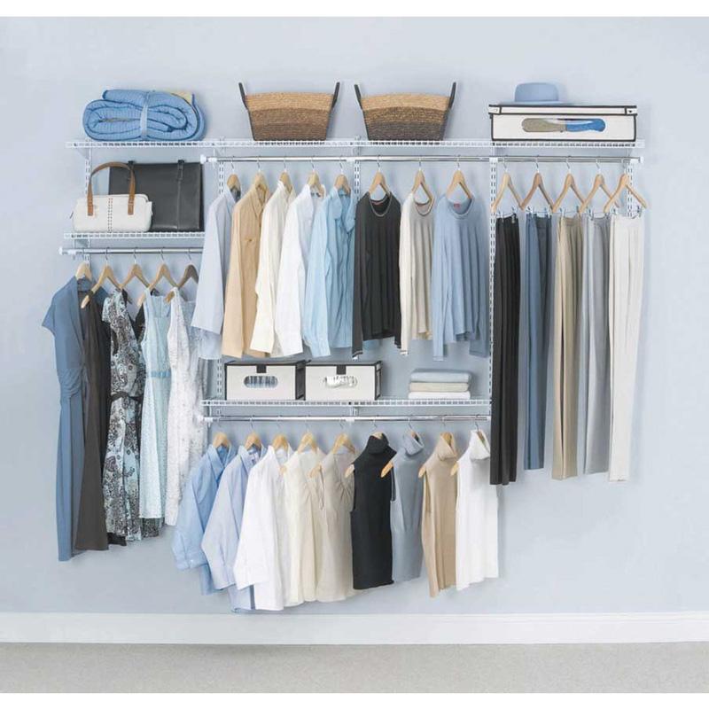 closet minimalista organizado