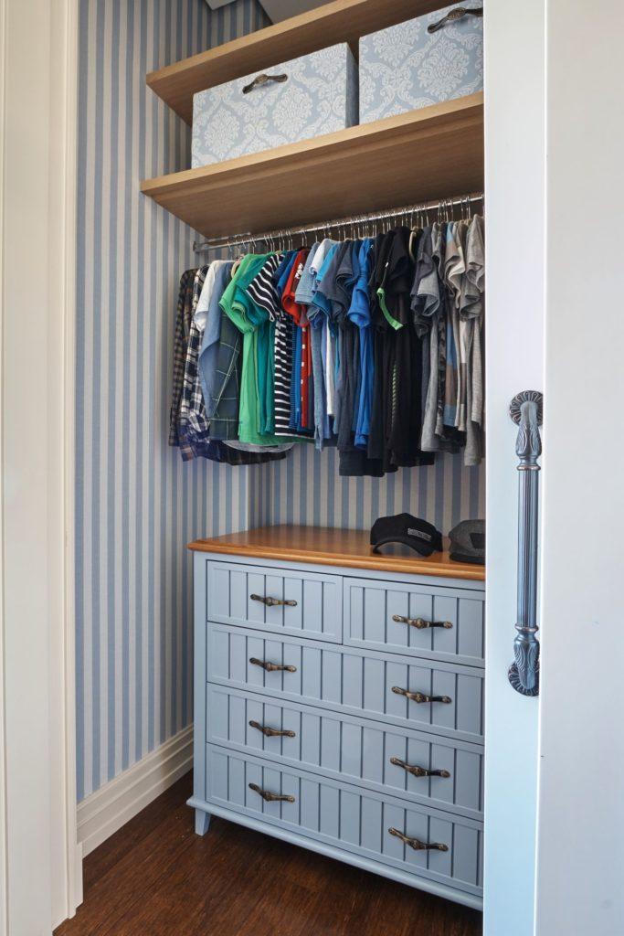 espaço para armário
