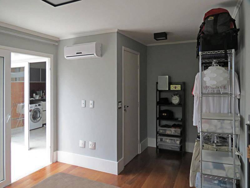 closet improvisado pequeno