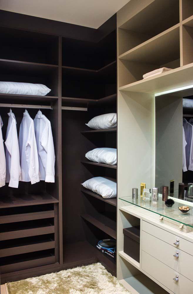 móvel planejado para closet