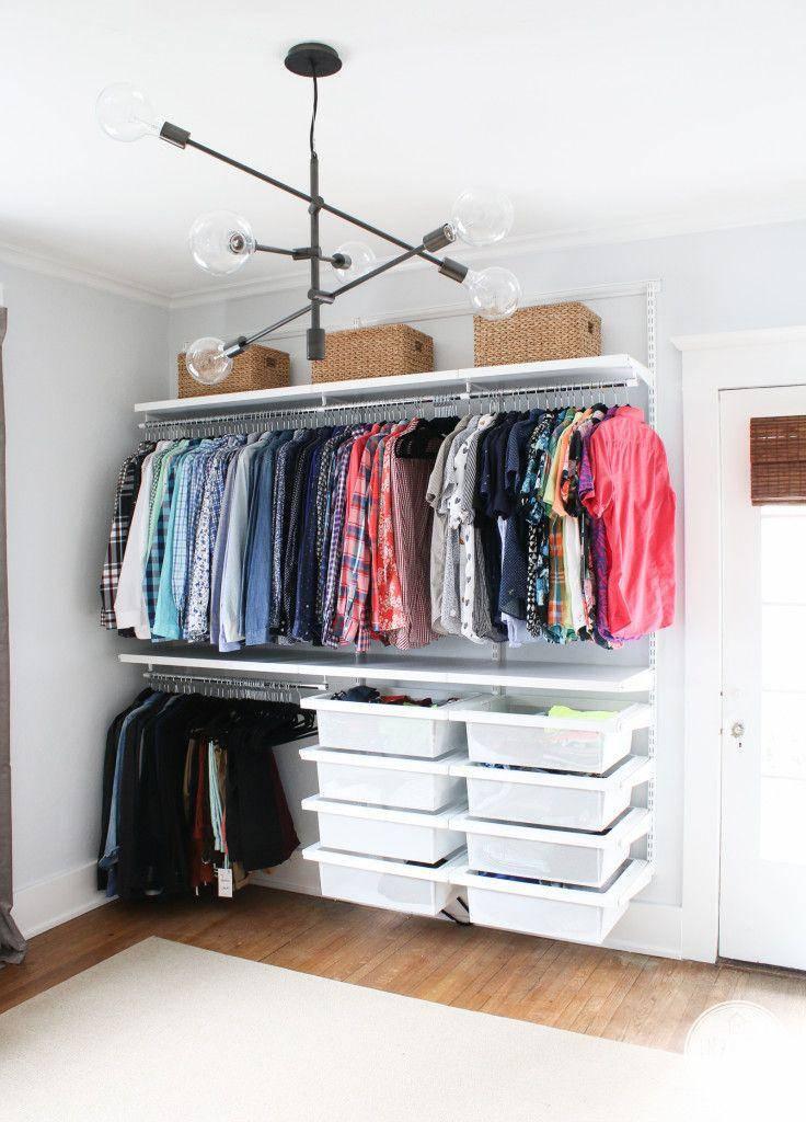 closet infantil organizado