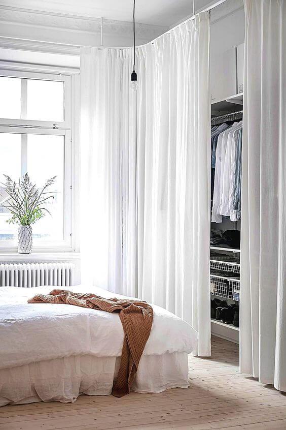 cortinas para armários