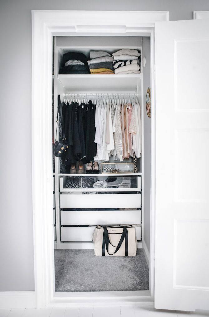 closet pequeno branco