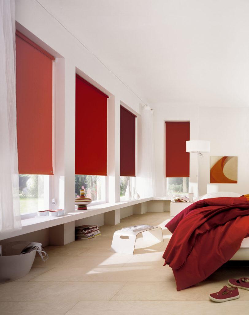 persiana vermelha